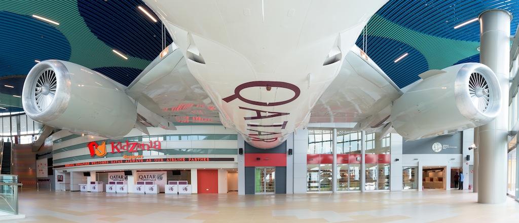 Kidzania Singapore - Full Wing Fuselage