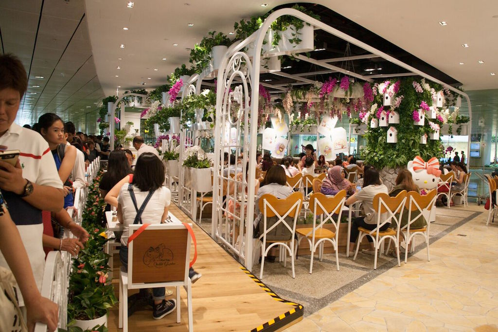 Hello Kitty Orchid Garden Café Singapore