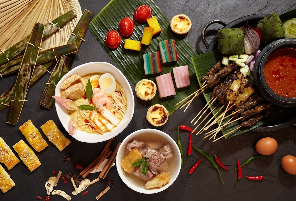 National Day dining at Edge at Pan Pacific Singapore