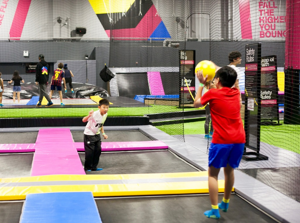 here s why you should visit bounce singapore s newest trampoline