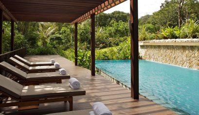Staycation pool at Amara Sanctuary Resort Sentosa