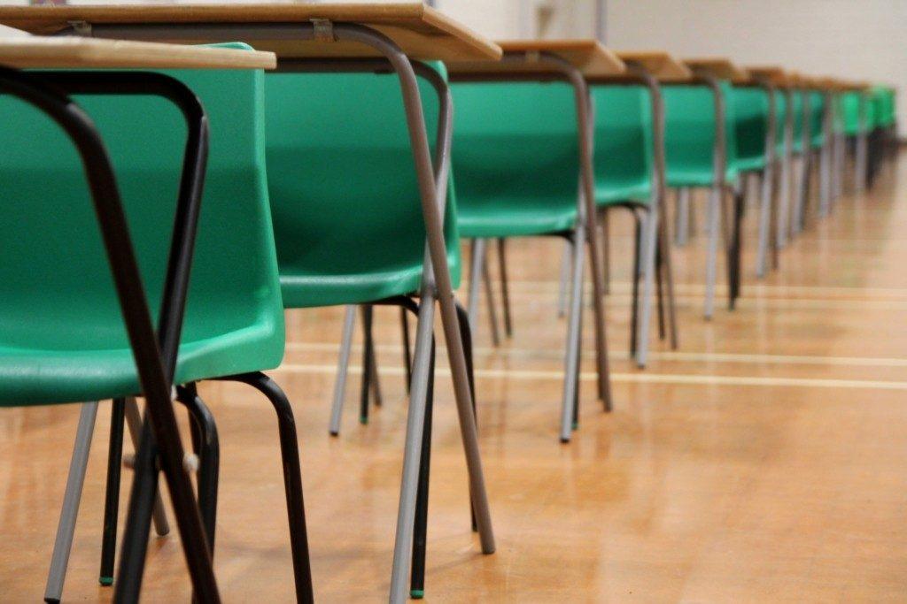 PSLE Chinese exam classroom