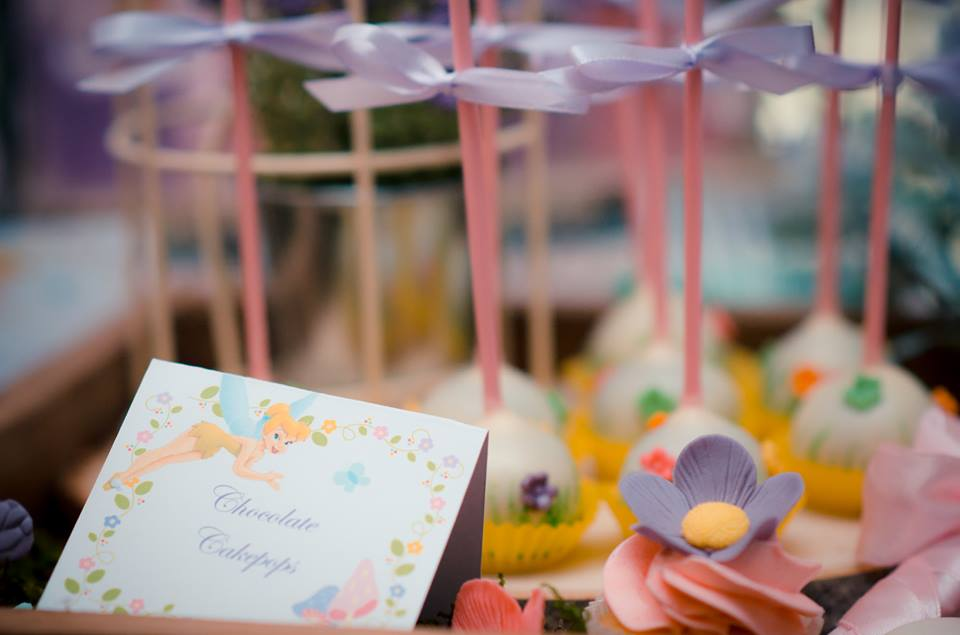 Tinkerbell Garden themed party 14