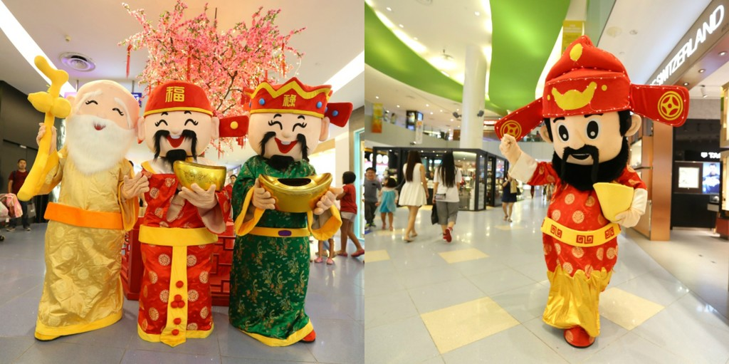 CNY Mascots at VivoCity_112