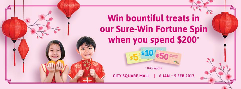 See Spring in a New Light at City Square Mall