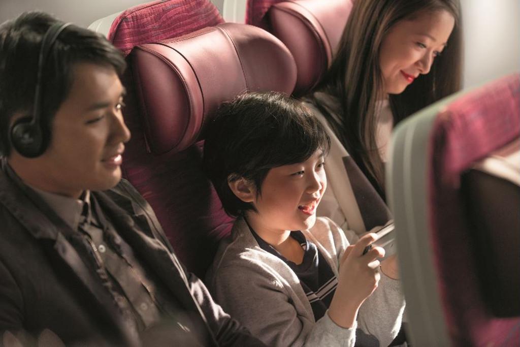 family-friendly airlines - qatar airways