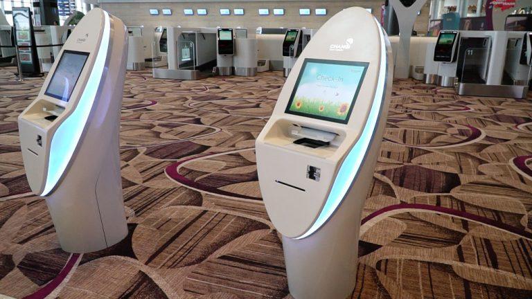 Changi Airport Terminal 4 -FAST-Machine
