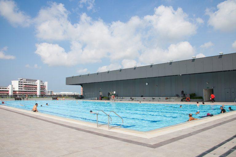 Our Tampines Hub - lap pool