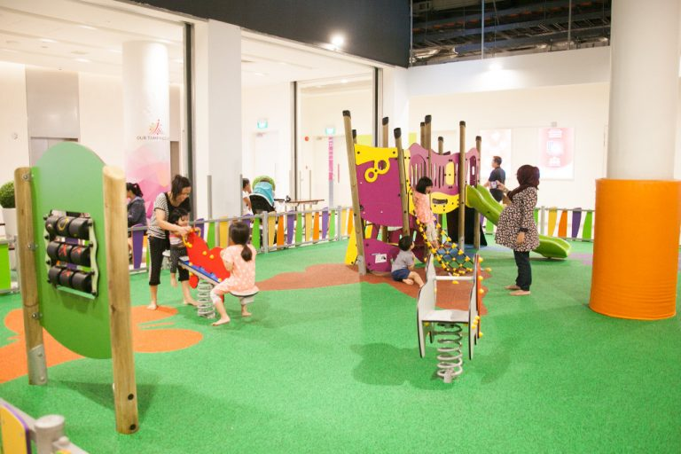 Our Tampines Hub - playground