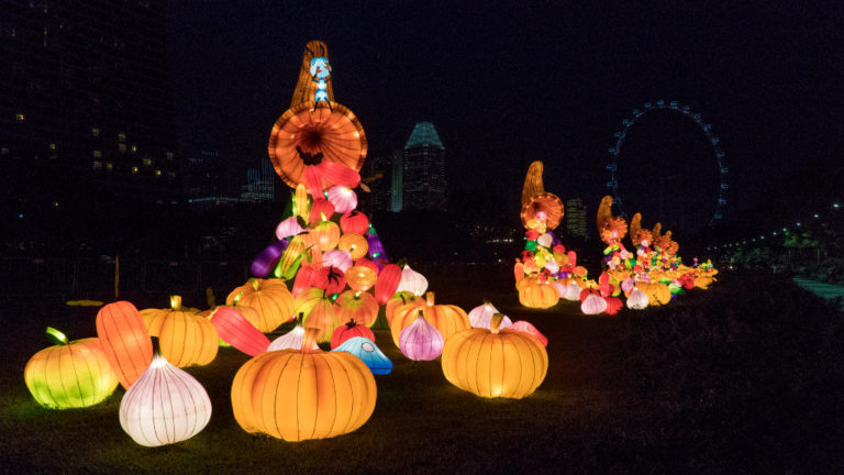 lighting up the gardens mid autumn 2017 abundance - Garden By The Bay Mid Autumn Festival 2017