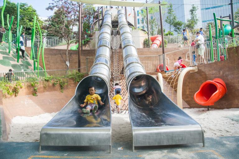 Admiralty Park - double-barrel
