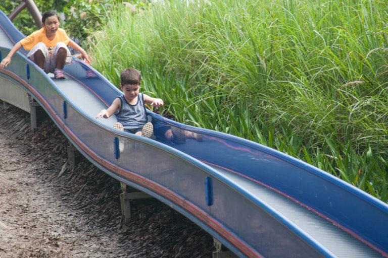 Admiralty Park - high-adventure