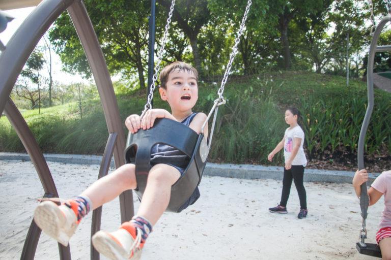 Admiralty Park - swings