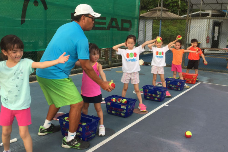sports academies for kids - tennis-tanglin