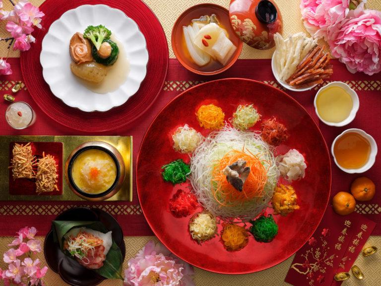 CNY 2018 reunion dinners - pan pacific