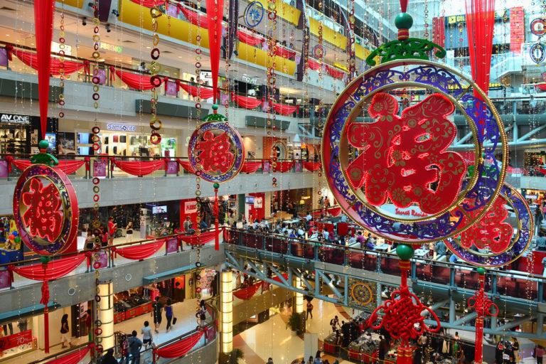 CNY activities - malls