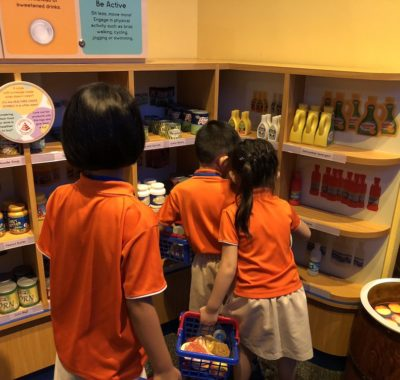 New exhibits at KidsSTOP™ Teach Kids all about Healthy Living through Fun!