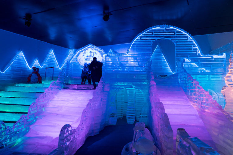 things to do in Pattaya - frost magical ice of siam indoors