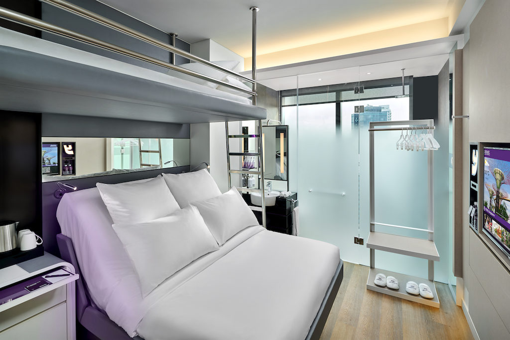 YOTEL - Queen with Bunk Cabin