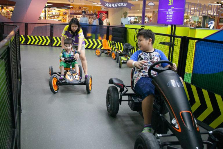 SuperPark Singapore - pedal car