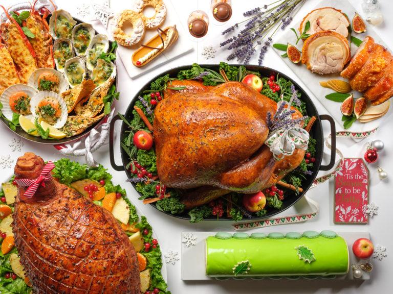 Festive Feasts Christmas Takeaways - Marriott Tang Plaza