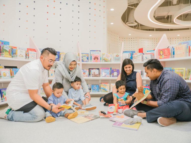 kid-friendly libraries in Singapore - Bukit Panjang