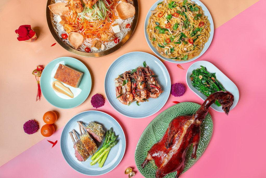 CNY 2020 reunion dinners - courtyard marriott - sky22