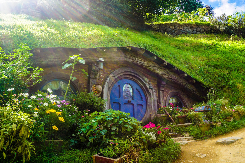 New Zealand with kids - Hobbiton