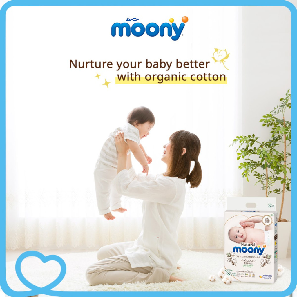 Natural Moony diapers