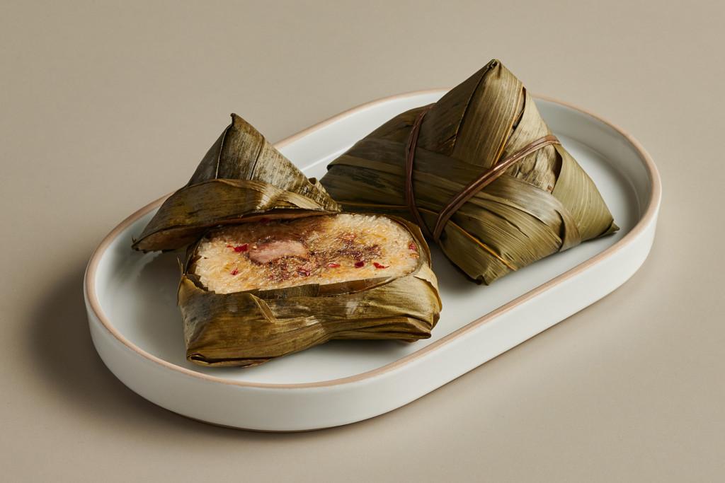rice dumplings from Man Fu Yuan