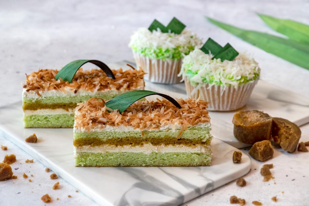 Gula Melaka Petite Cake & Ondeh Ondeh Cupcake – The Marmalade Pantry