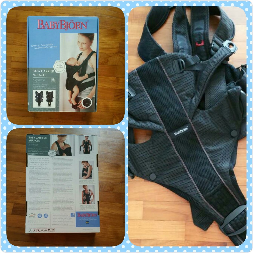 baby bjorn miracle airy mesh carrier