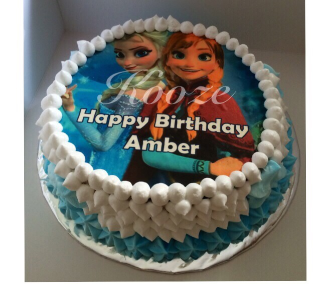 Any ideas where to order frozen theme birthday cake